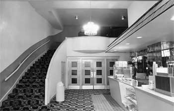 Theatre Lobby circa 1935, from the Austin History Center collection (JPG)